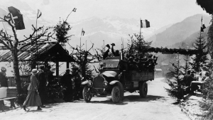 L'arrivée de prisonniers de guerre en Suisse