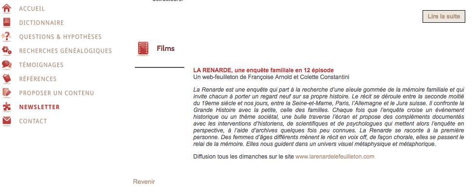 La newsletter de Généasens !